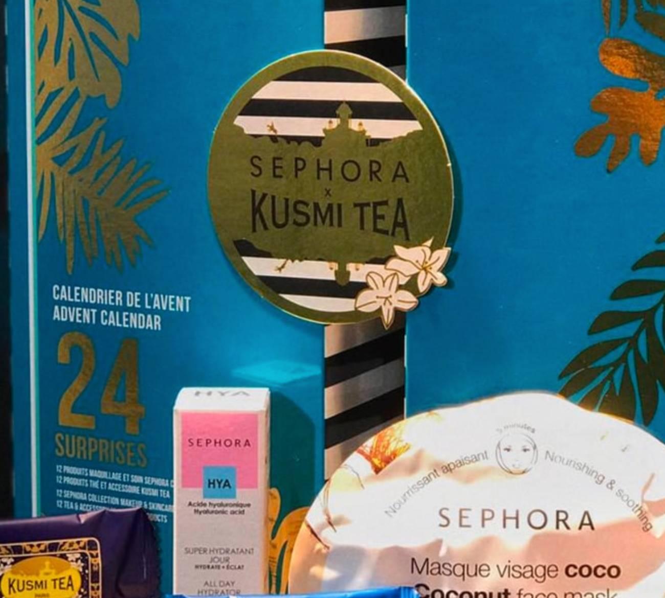 calendario adviento sephora kusmi tea