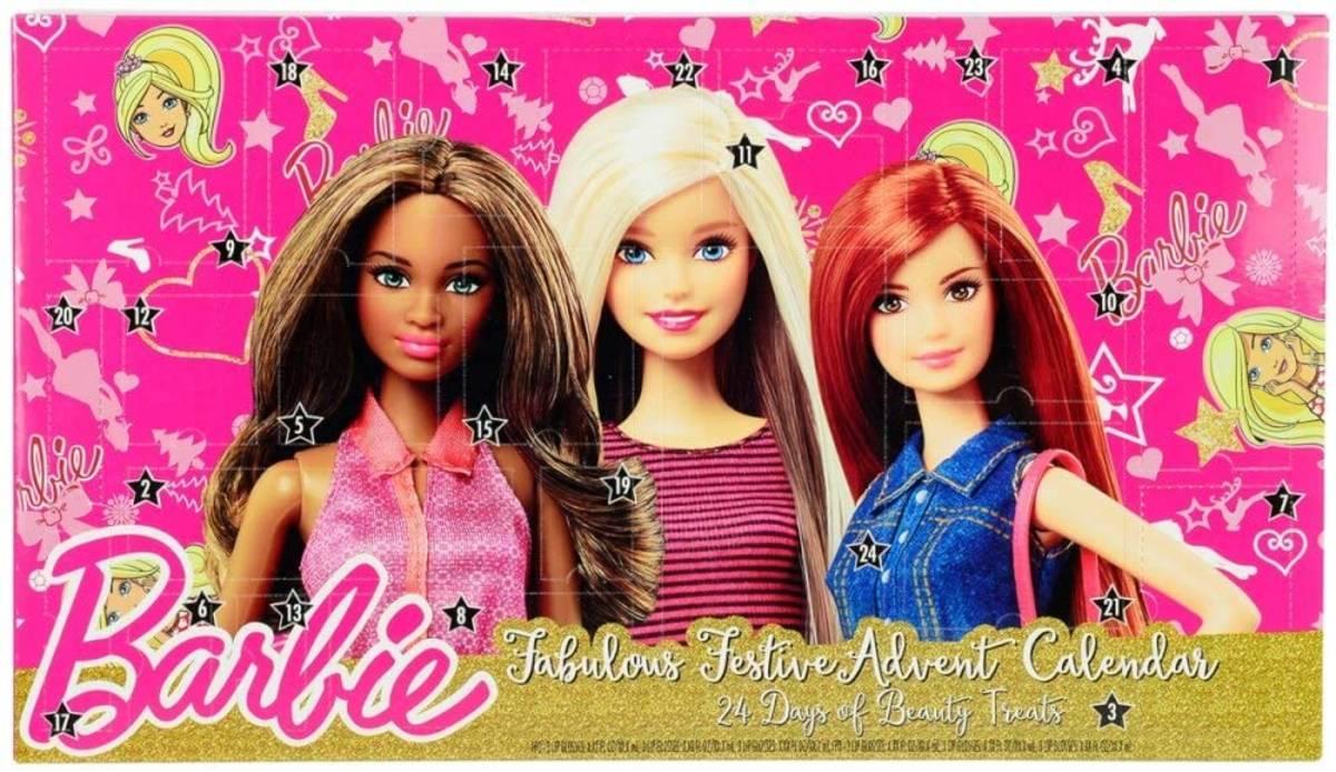 calendario barbie 2016