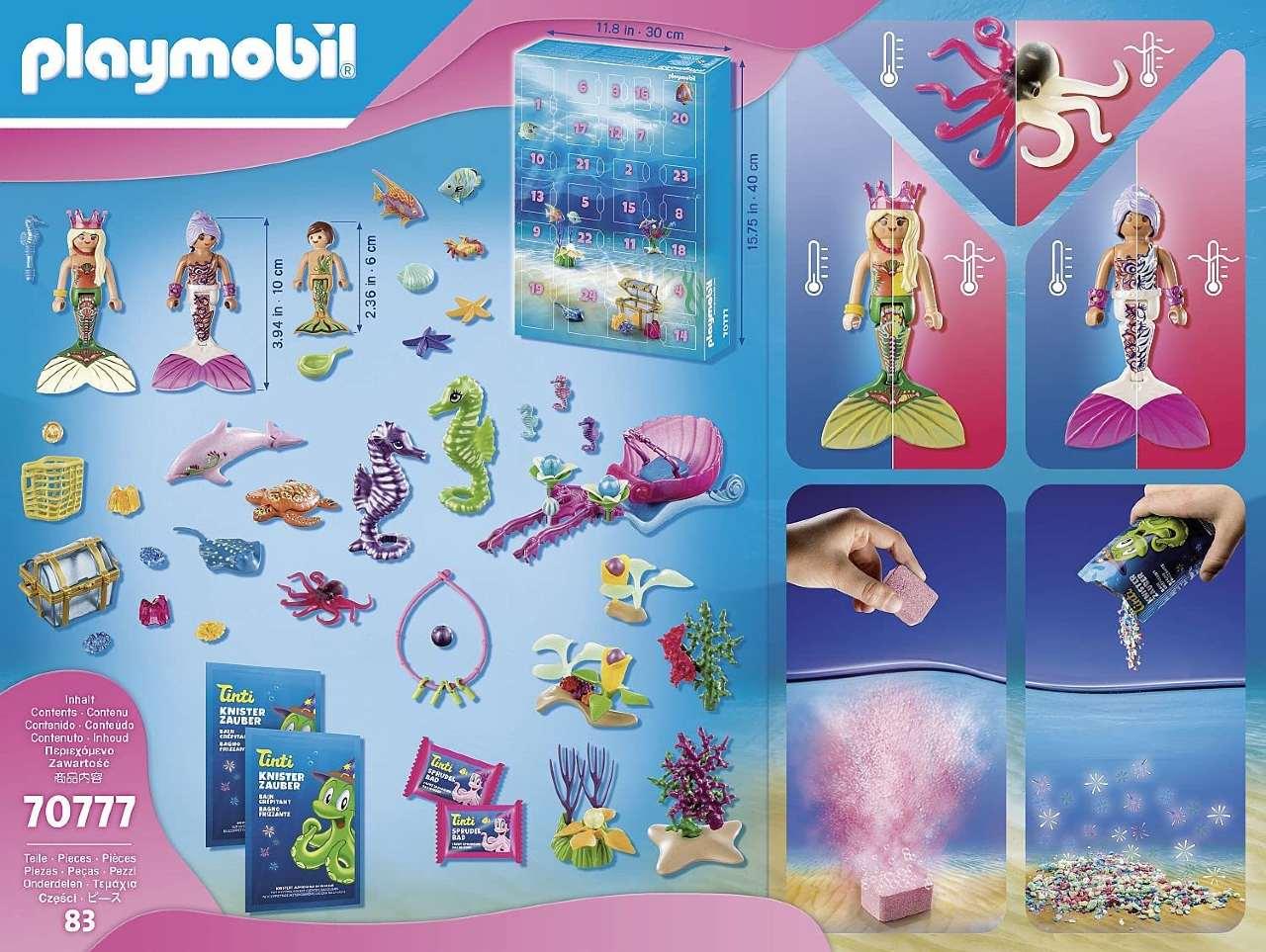 calendario de Adviento Playmobil Sirenas