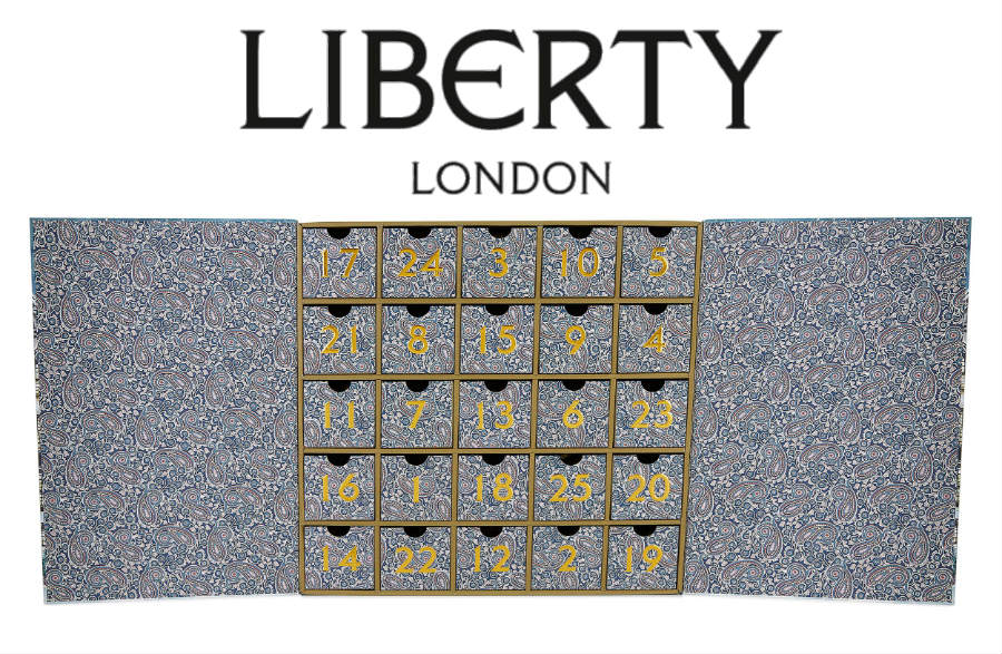 calendario de adviento 2019 liberty london