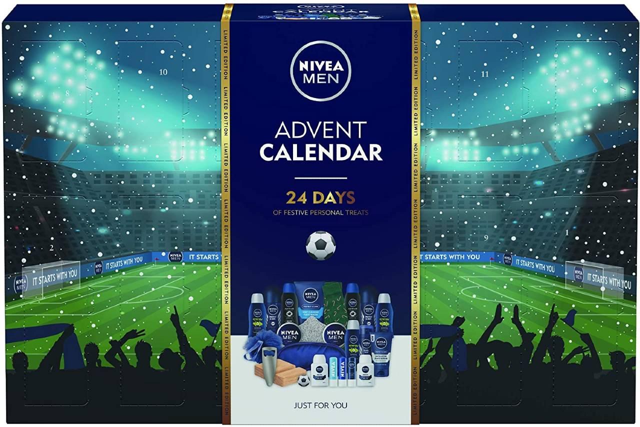 calendario de adviento Nivea Men 2020 futbol