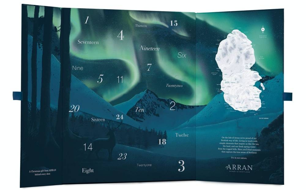 calendario de adviento Arran 2020