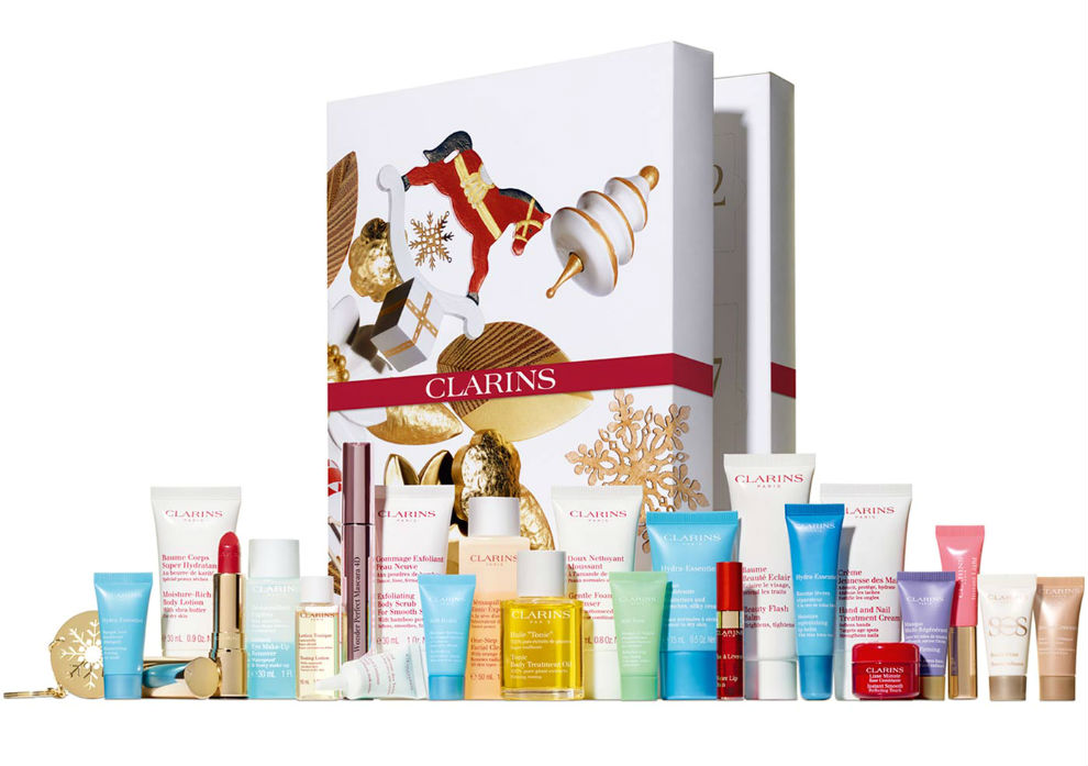 calendario de adviento clarins 2019