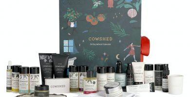 Calendario de Adviento Cowshed 2020