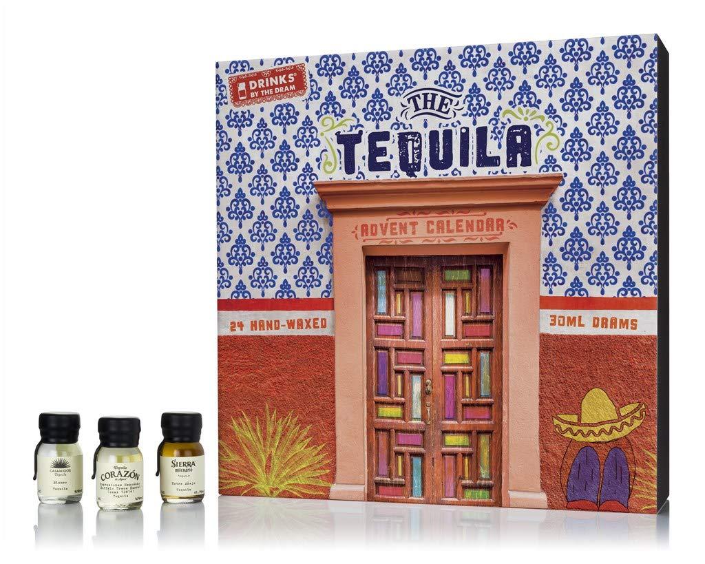 Calendario de Adviento de tequila