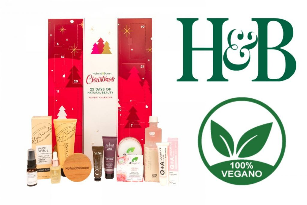 Calendario de Adviento Holland & Barrett 2020