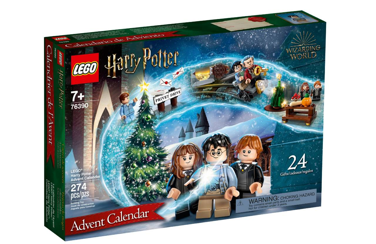 calendario de adviento lego harry potter 2021