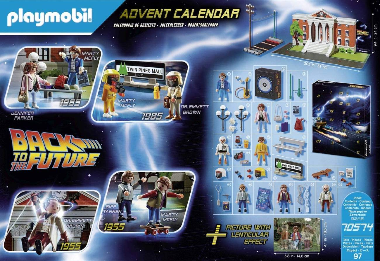 Calendario de Adviento Regreso al futuro Playmobil