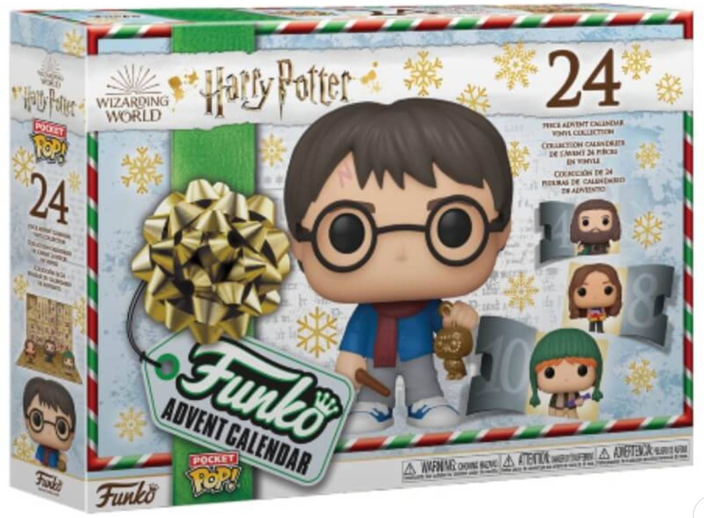 calendario harry potter funko pop 2020