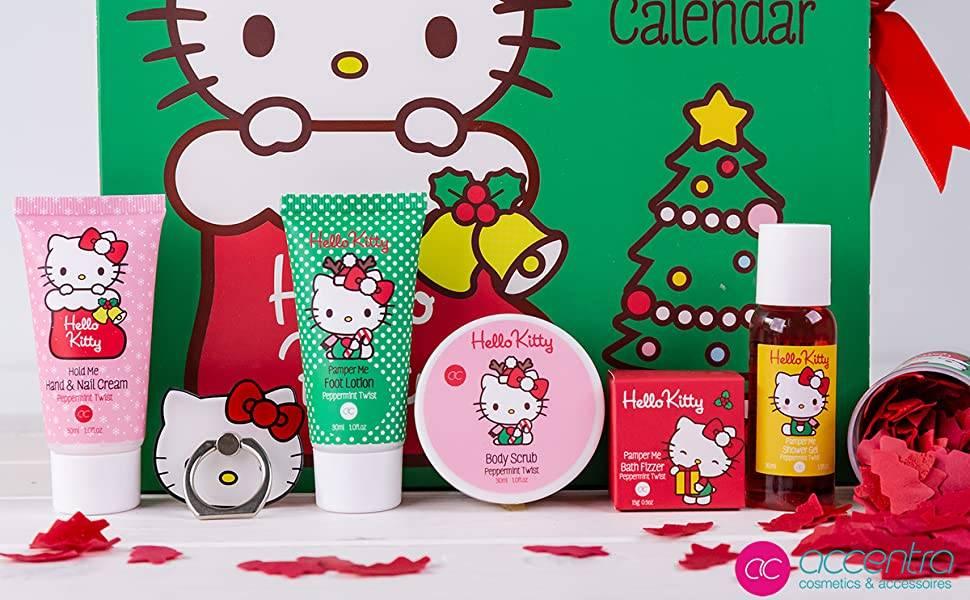 calendario hello kitty navidad 2020