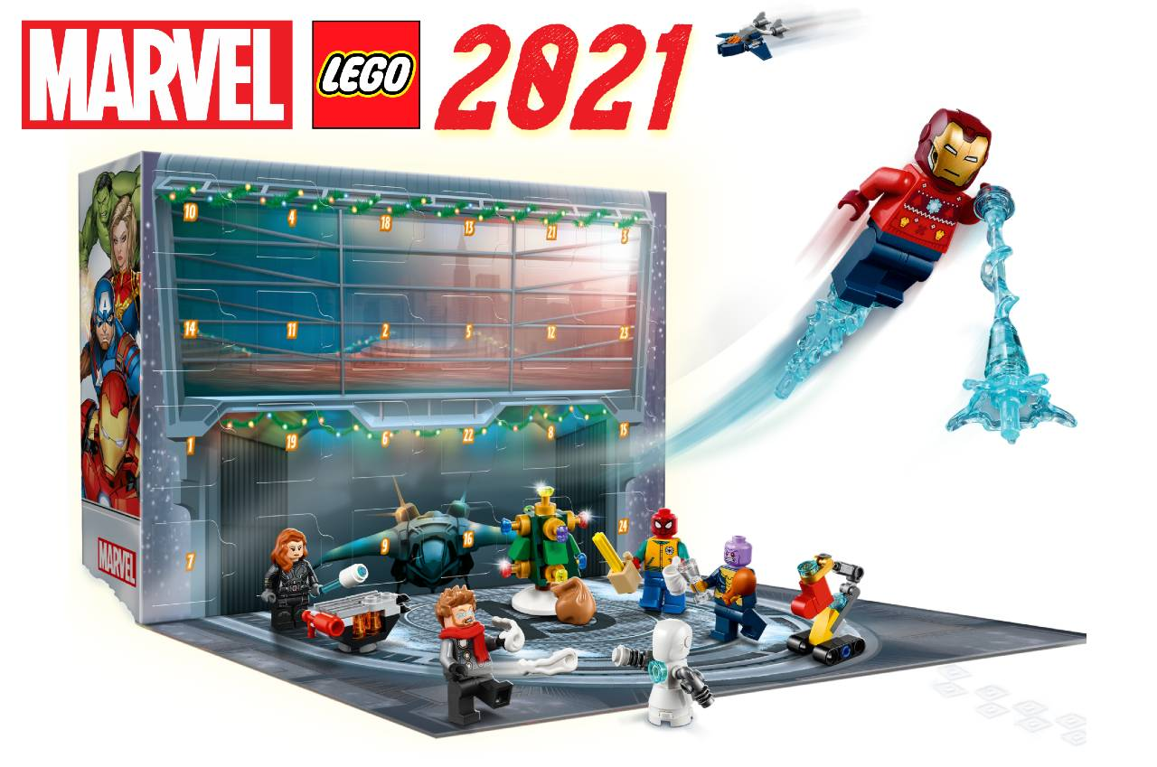 calendario lego de marvel 2021