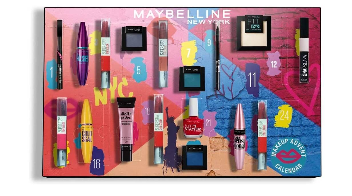 calendario maybelline 2020 maquillaje