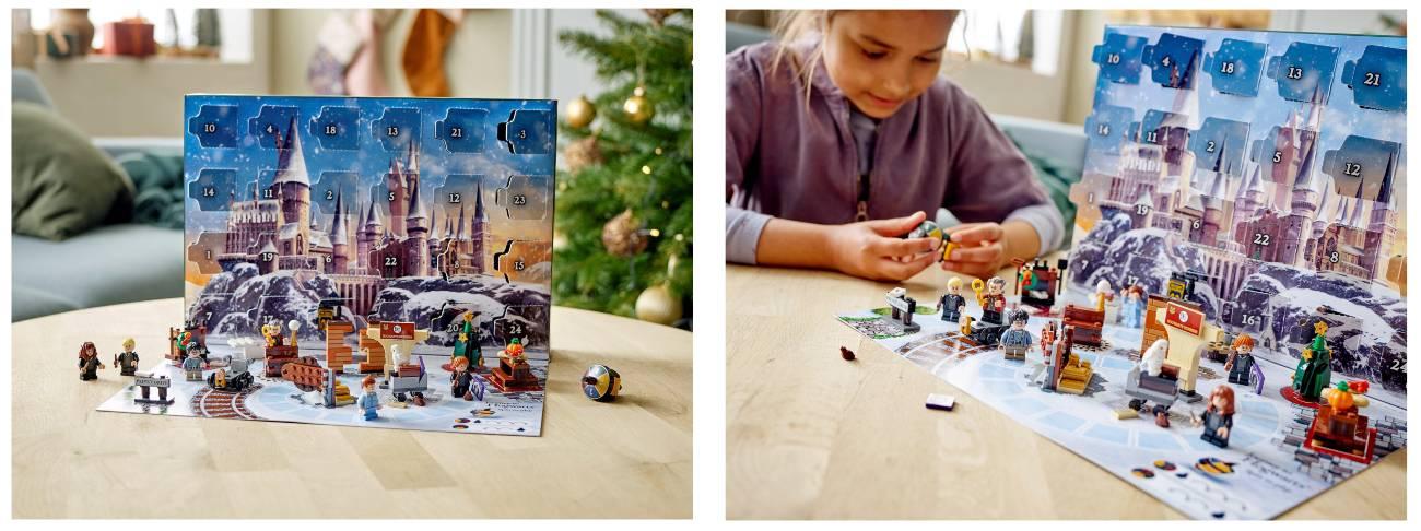 calendario navidad harry potter 2021 lego