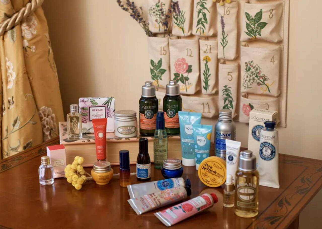 calendario occitane reutilizable 2020