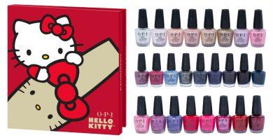 calendario opi hello kitty esmalte uñas