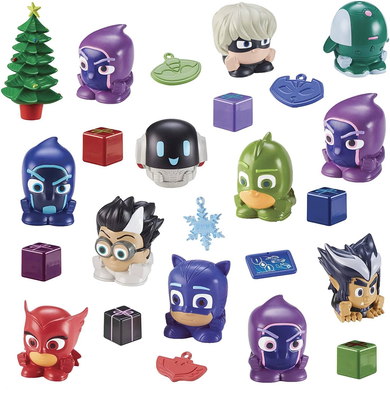 calendario PJ Masks juguetes