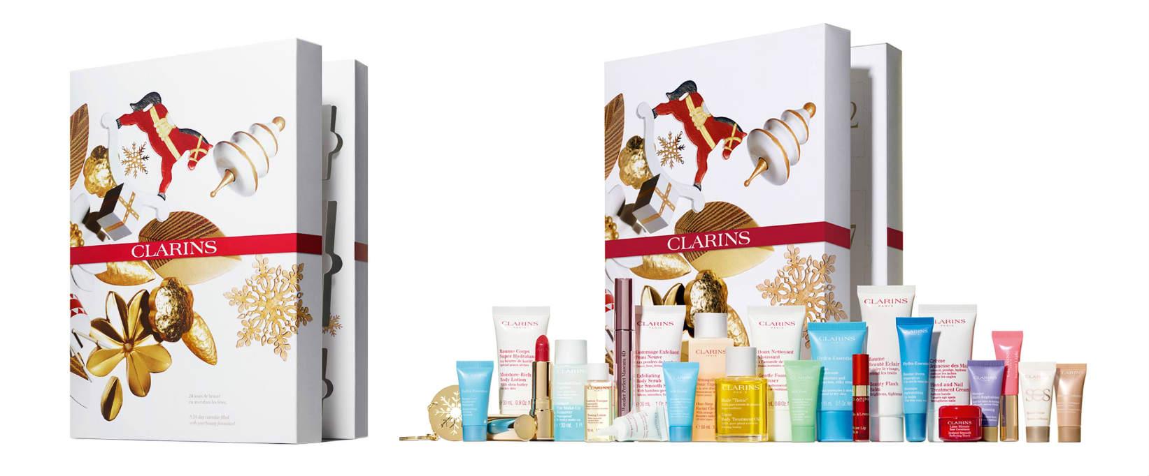 calendarios belleza clarins 2019