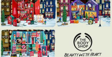 calendarios de adviento 2019 body shop