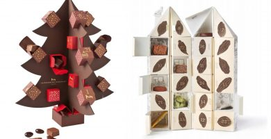 Calendarios de Adviento de chocolate