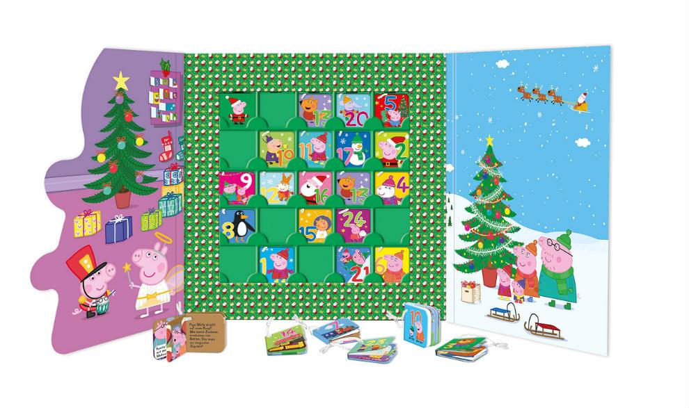 Calendarios de Adviento de Peppa Pig