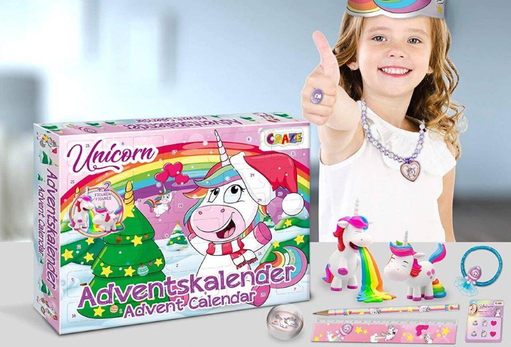 Calendarios de Adviento de unicornios
