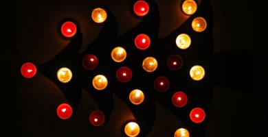calendarios de adviento de velas