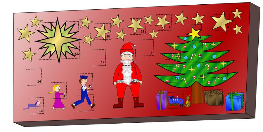 calendarios de adviento para niños