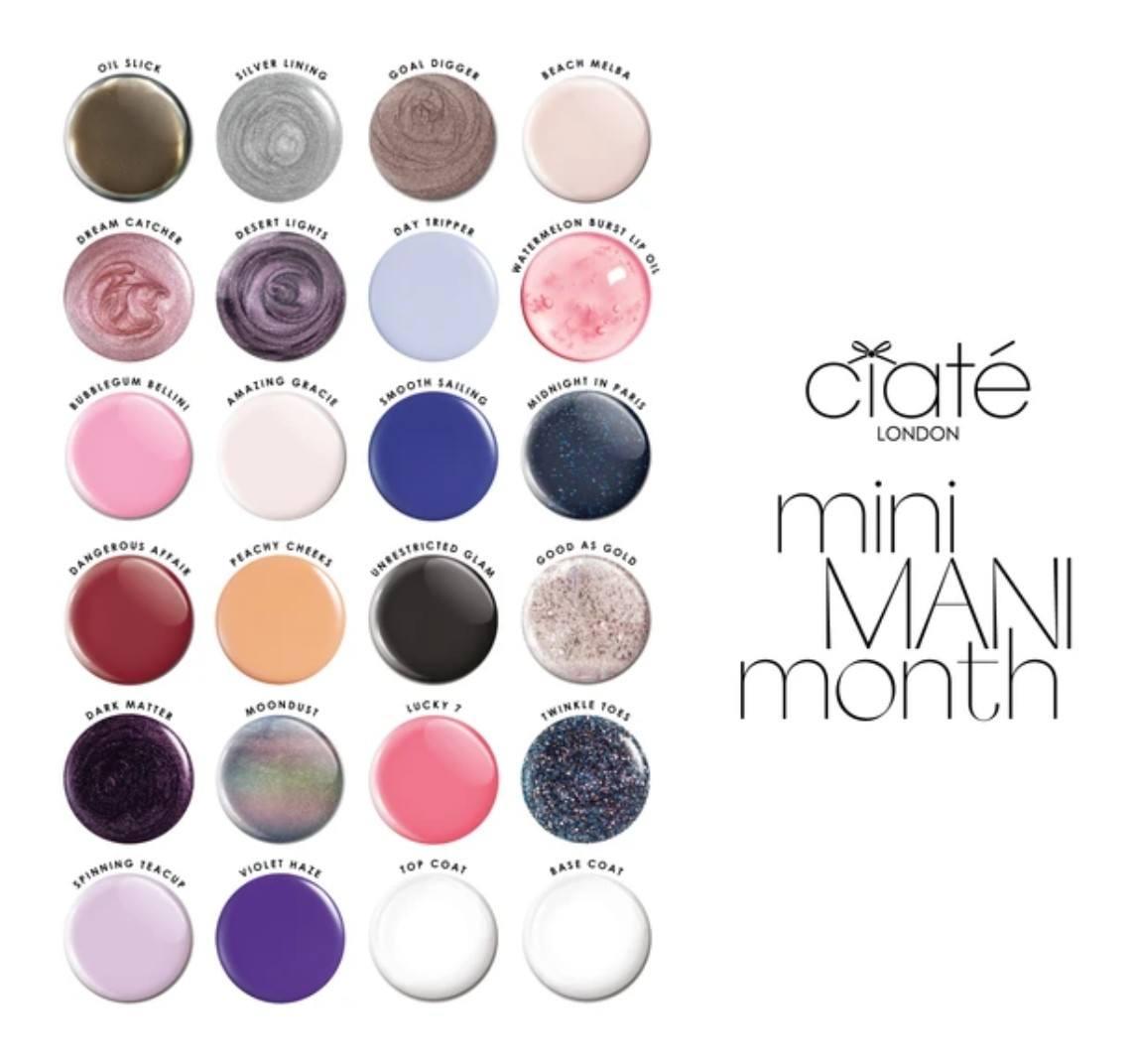 Ciate Mini Mani Month 2020