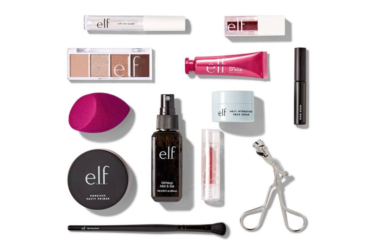 elf cosmetics calendario 2020 productos
