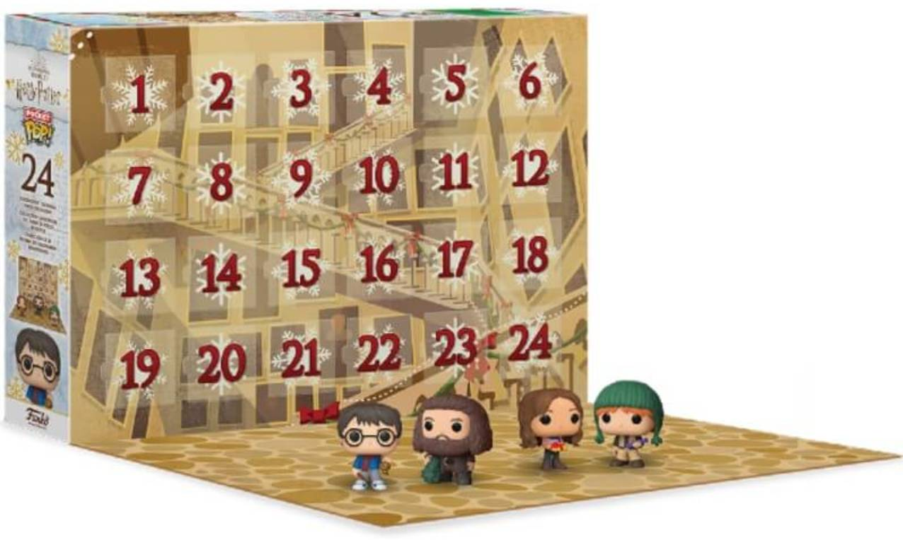 funko pop 2020 calendario adviento harry potter