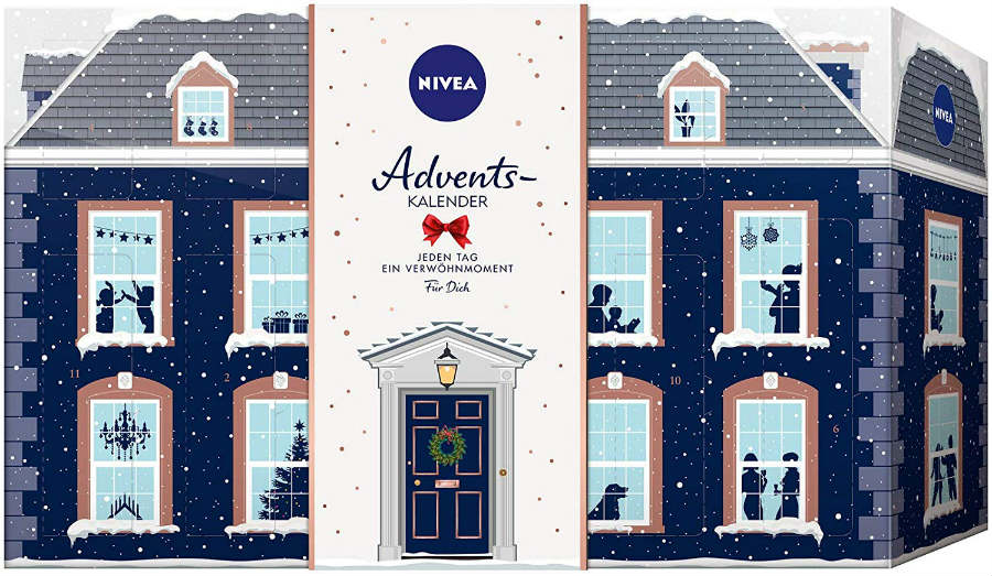 house advent calendar nivea 2019