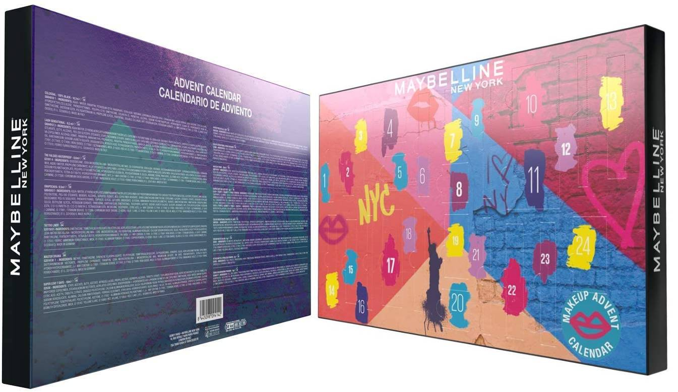 maybelline new york 2020 calendario