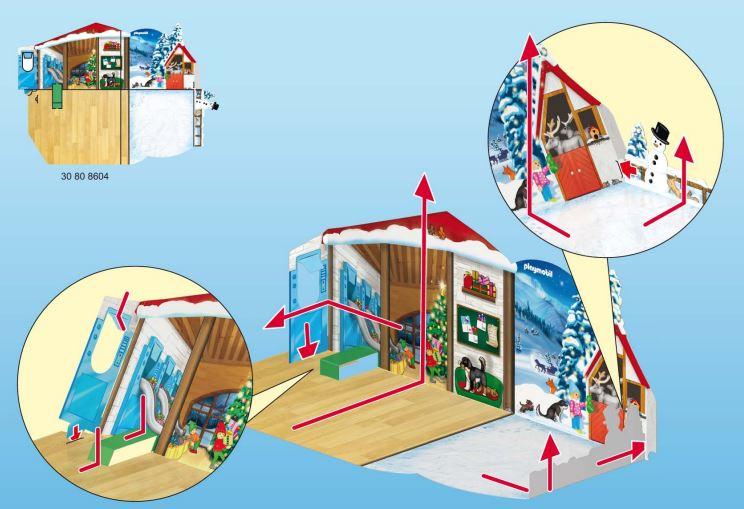 Calendario Adviento Playmobil Taller de Navidad 2018