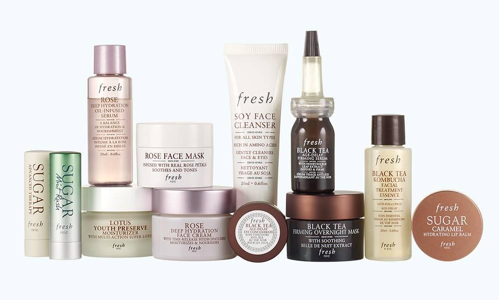 productos calendario Fresh Beauty 2020