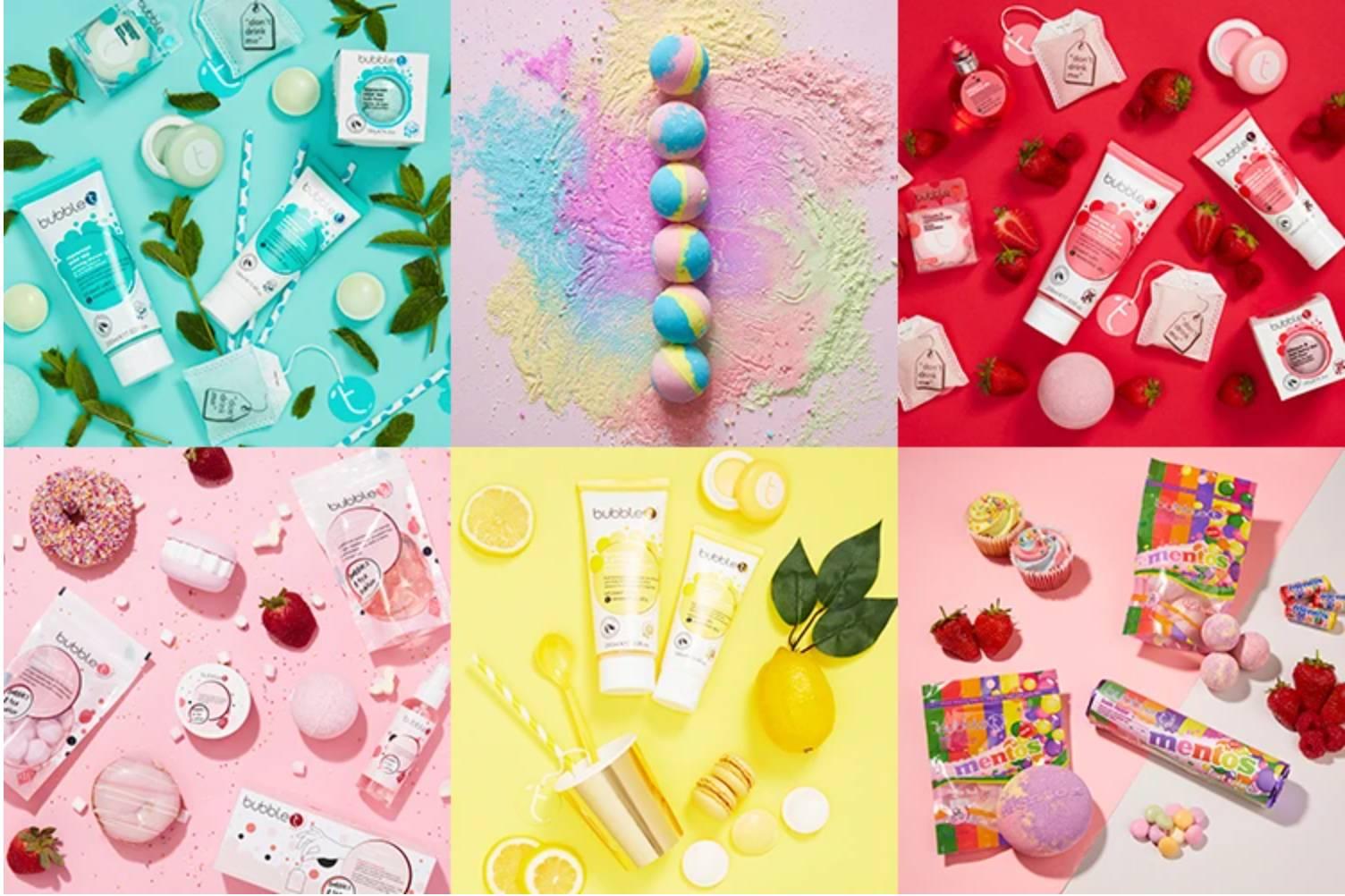 productos de Bubble T