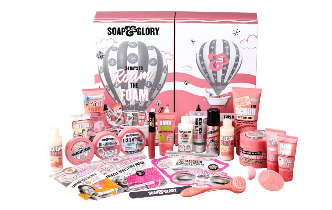 soap & glory 2020 calendario adviento