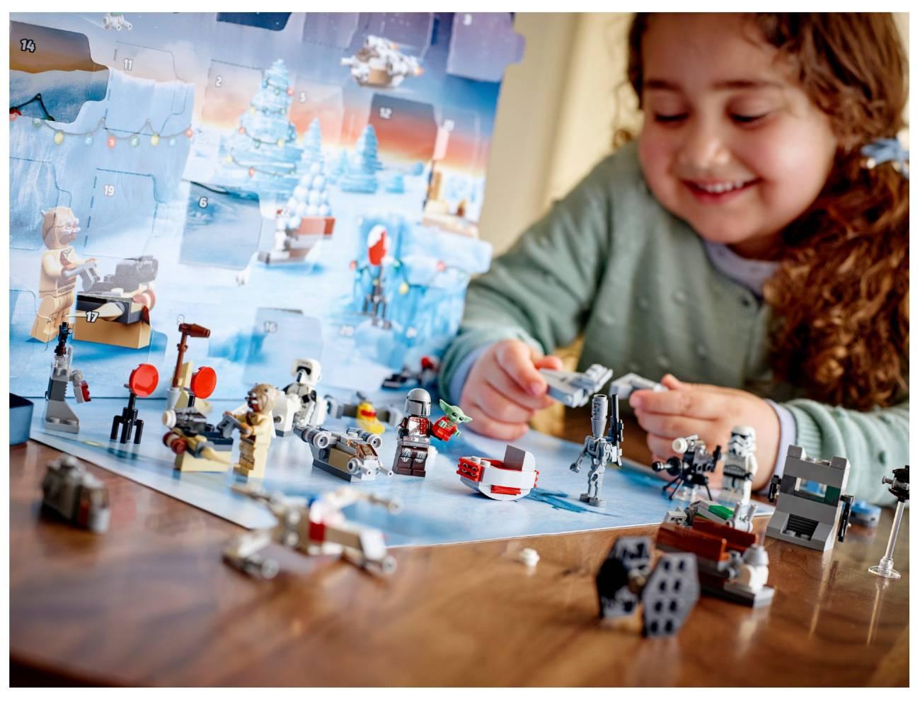 Star Wars Lego Calendario 2021