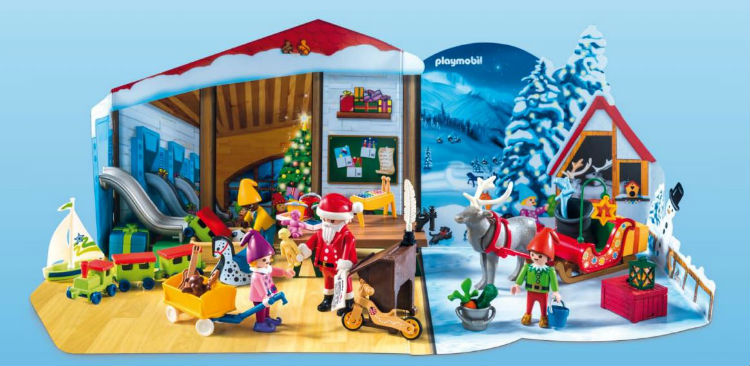 Comprar online calendario de Adviento Playmobil 2018