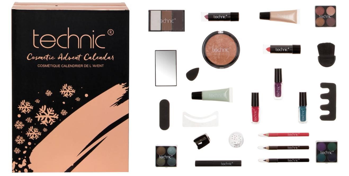 Technic 2020 calendario maquillaje