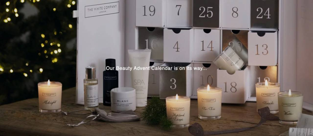The White Company calendario 2020